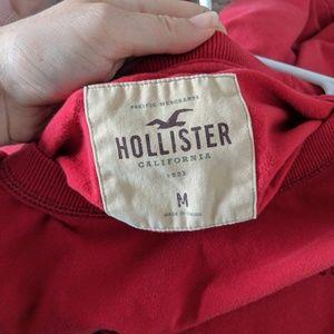 Hollister Shirts - Men's red Hollister long sleeve shirt size medium